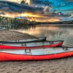GFK oder Fiberglas Boote lassen sich gut mit Tear-Aid reparieren.