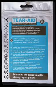 tear aid f r flicken und reparaturen von pvc gummi u v a materialien tear aid das. Black Bedroom Furniture Sets. Home Design Ideas
